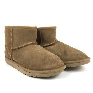 UGG Classic Mini Exotic Scales Boots Women's 6